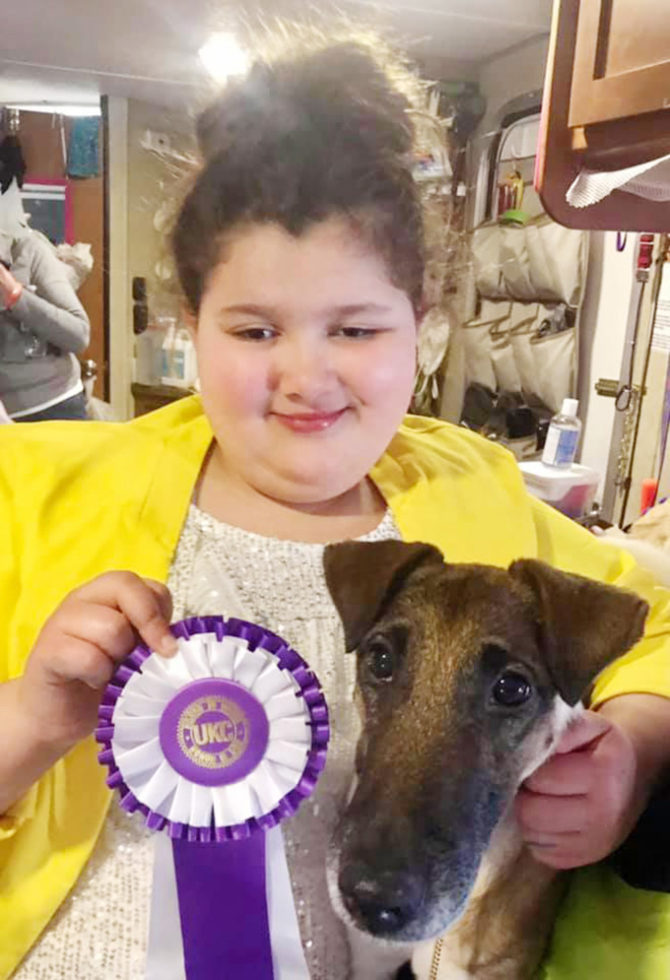 Eva Wins Reserve Best Junior in Show