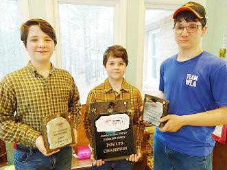 1st Turkey Calling Contest for John, Joe, and Thomas