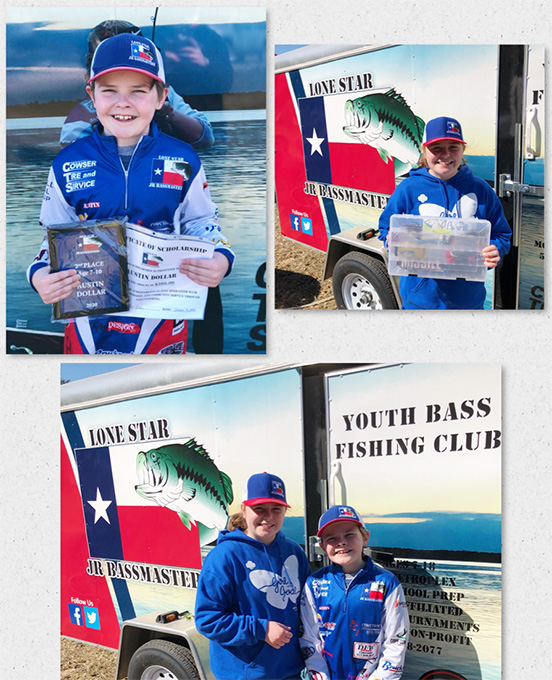 Austin and Kaitlyn Fish Across the State of Texas