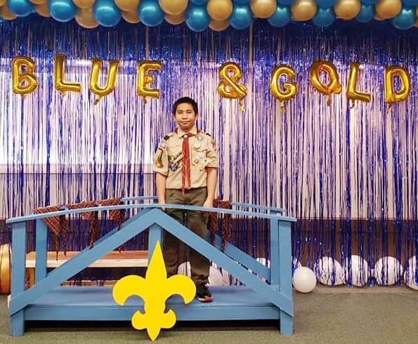 Charljim Crosses Bridge Becomes a Boy Scout