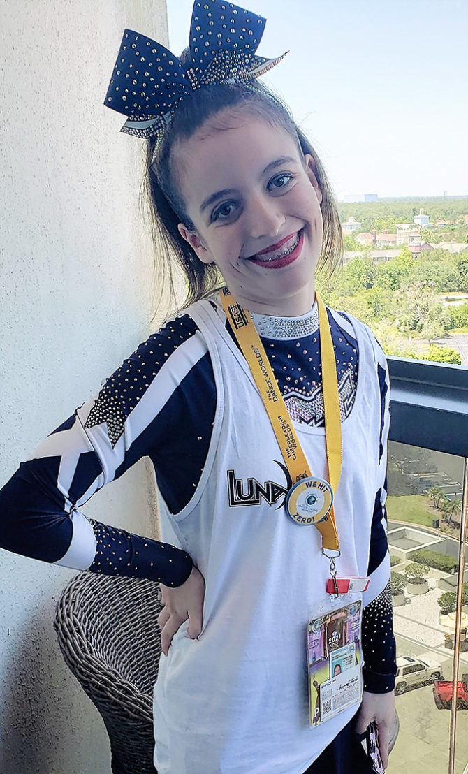 Living Her Dream – Molly Makes Cheerleading Worlds