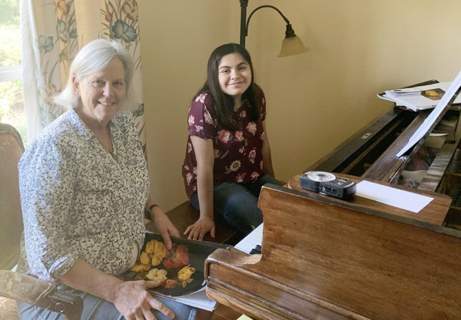 Diana Wants Her Piano to Bring Joy to Families