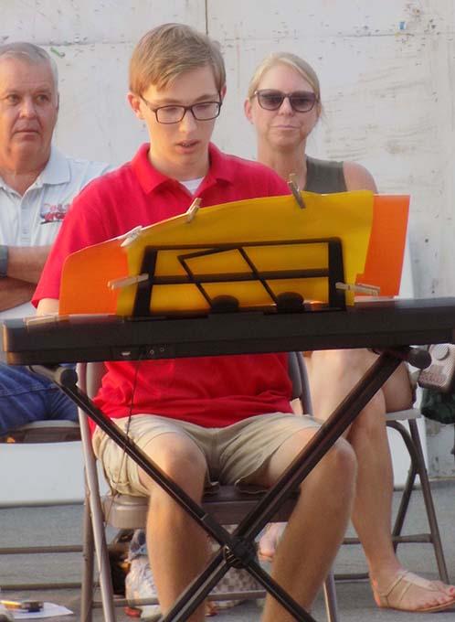 Michael Participates in 4-H Music Project, Wins Championship
