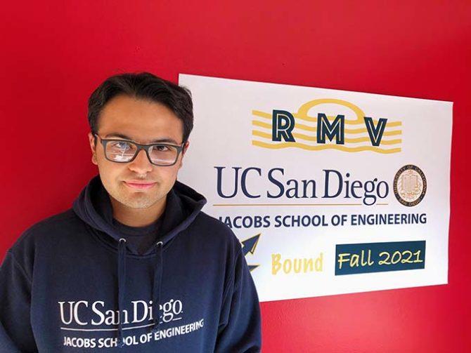 Rodolfo Gains Entrance to UC San Diego
