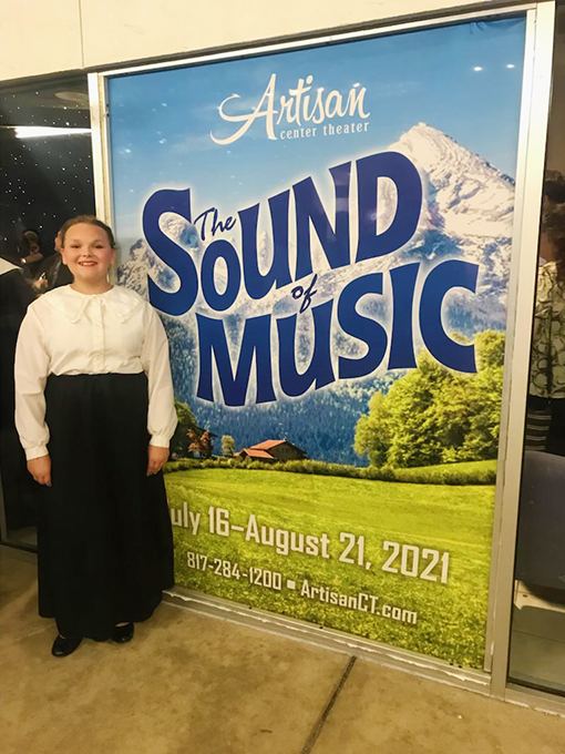 Rita Completes Six-Week Run of The Sound of Music